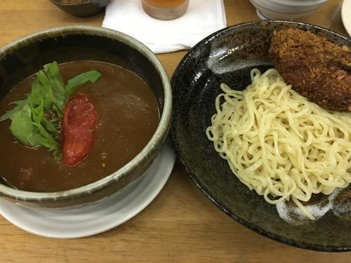 「【文月の一杯】  真夏のトマトカレーつけ麺」@MENYA 食い味の道有楽の写真