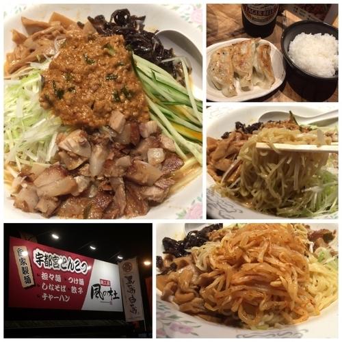 「冷やし坦々麺 +Aセット+ビール」@麺工房 風の杜の写真