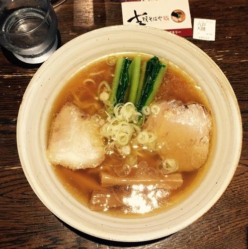 「【限定】八戸麺道 大陸 1200円」@支那そばや 新横浜ラーメン博物館店の写真