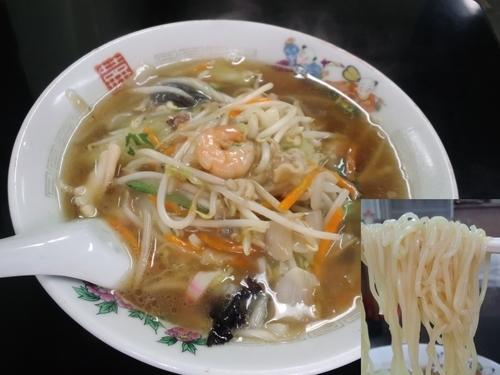「サンマーメン610円」@中華料理 天華の写真