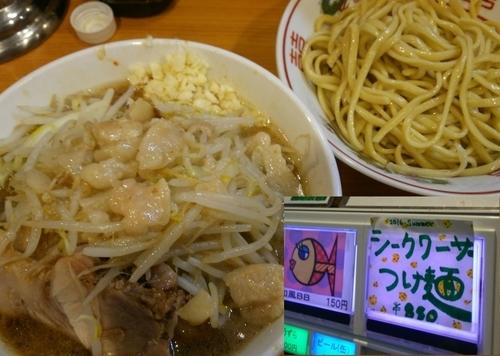 「[限定]シークワーサーつけ麺 880円」@ラーメン二郎 八王子野猿街道店2の写真