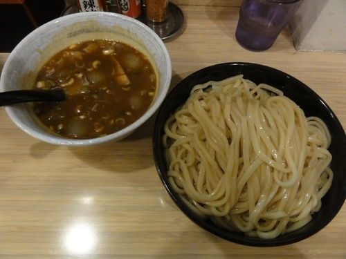 「カレーつけそば」@麺屋 隆勝の写真