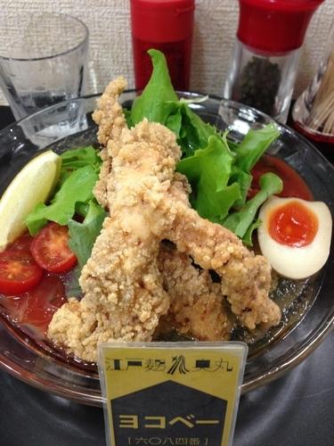 「限定  冷やしトマト麺」@自家製麺SHINの写真