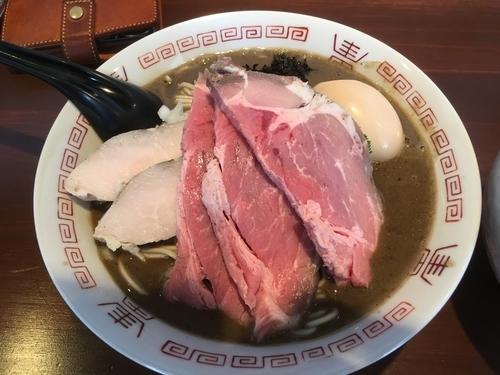 「濃厚中華蕎麦+肉増し+味玉」@中華蕎麦 志の写真