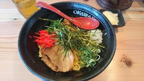 「【曜日限定】鶏まぜそば+パルメザンチーズ(クーポン)」@らぁめん初代 OKAWARIの写真