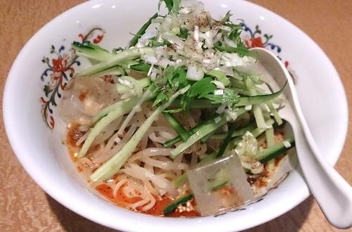 「白胡麻冷やし担担麺」@新中華食堂 天海の写真