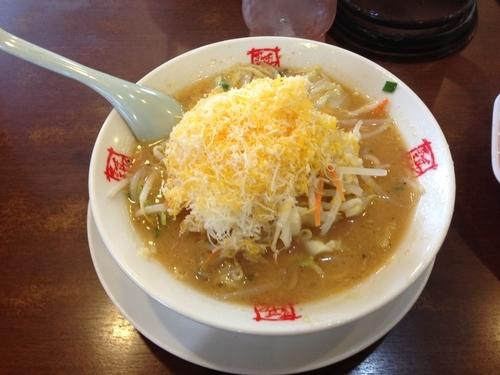 「チーズ味噌ラーメン」@おおぎやラーメン 長野飯山店の写真