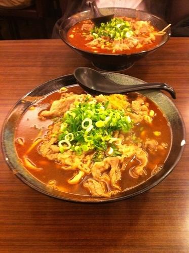 「牛肉麺」@韓記老虎麵食館の写真