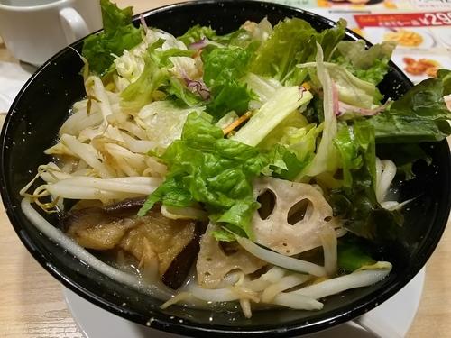 「【限定?】1日分の野菜のベジ塩タンメン」@ガスト 豊科店の写真
