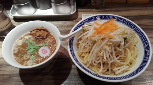 「鰹つけ麺」@麺屋ジャイアン弐の写真