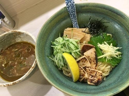 「烏賊煮干しつけそば ¥850」@麺処 きなりの写真