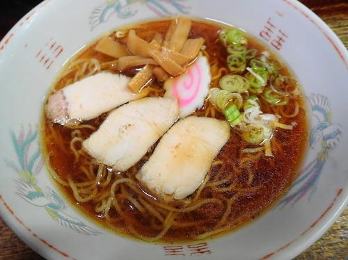 「中華そば 麺硬め」@白水の写真