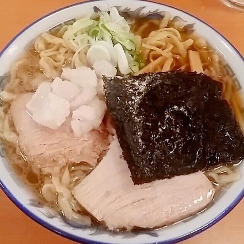 「中華そば(小盛り)650円」@ケンチャンラーメン 山形の写真