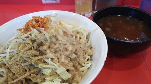 「つけ麺(にんにく・あぶら・魚粉・七味)」@麺屋 桐龍の写真