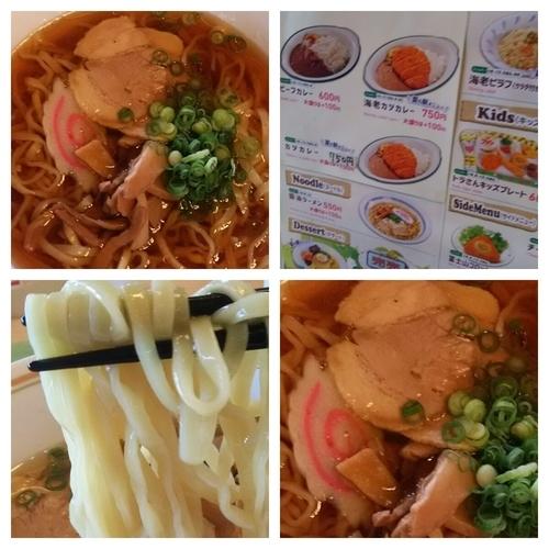 「ラーメン+大盛」@草原のレストランの写真