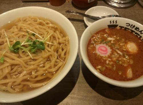 「味玉つけ麺あつもり400㌘」@つけめんTETSU 調布店の写真