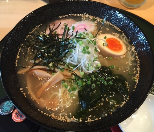 「冷たい塩ラーメン(¥800)」@麺屋中ひらの写真