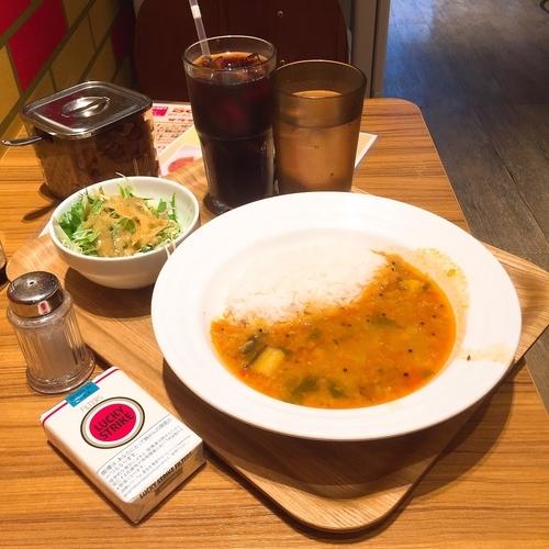 「サンバルセット(豆と野菜のカリー)」@エチオピア カリーキッチンの写真