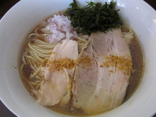「淡麗煮干し中華蕎麦 「750円」」@煮干し中華蕎麦 山崎の写真