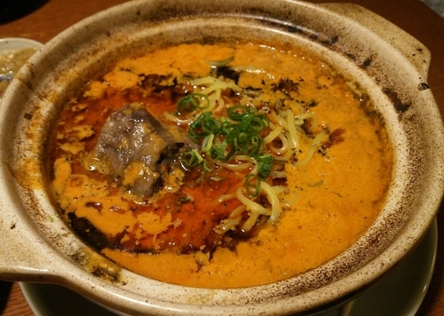 「和牛テールの坦々麺 980円」@南九州うめえもん 北小金亭の写真