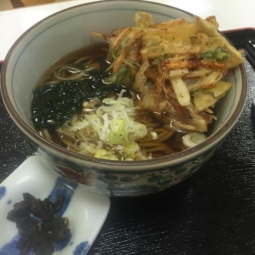 「天ぷら(¥520)」@軽食コーナー 駒の写真
