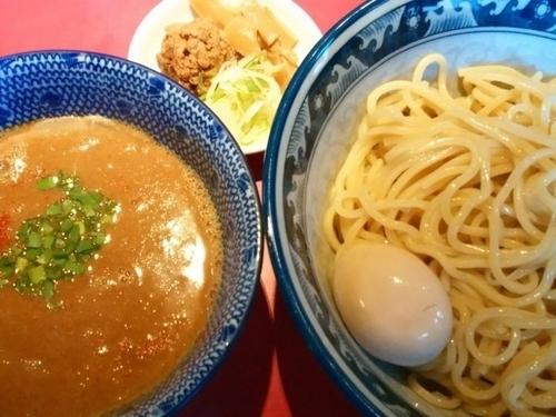 「味噌つけ麺(中盛)+味玉」@らーめん・つけめん こてんぱんの写真