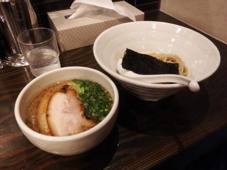 「醤油つけ麺(ハーフ)125g」@札幌 Fuji屋の写真
