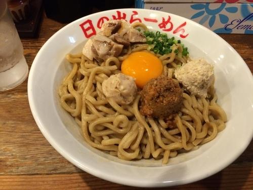 「ガッツ麺DX」@日の出らーめん 名駅西口分店の写真