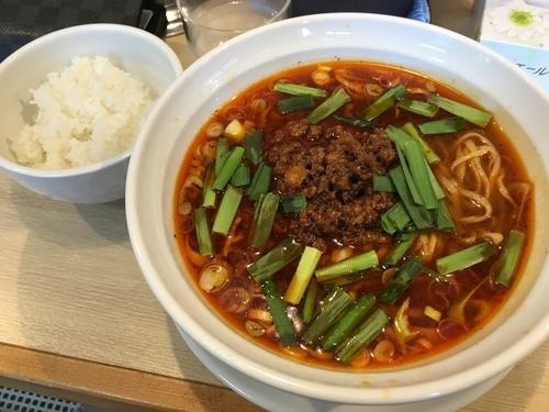「限定 台湾らーめん+半ライス」@麺屋壱心の写真