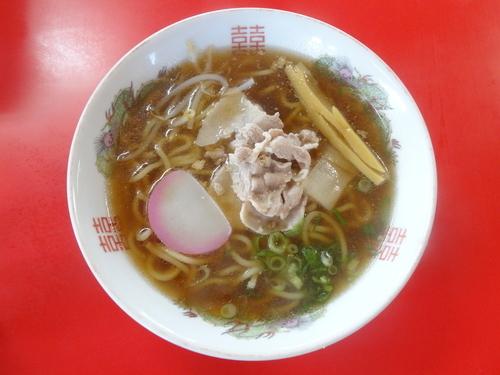 「中華そば」@食堂 市番の写真