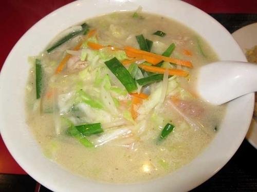 「野菜湯麺 580円」@中国料理居酒屋 珍味館 東浅草店の写真
