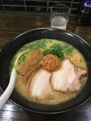 「豚白湯味噌ラァメン 800円」@札幌 Fuji屋の写真