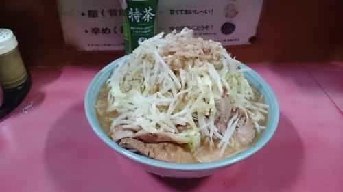 「大盛チャーシュー(ヤサイアブラ)¥900」@ラーメン二郎 歌舞伎町店の写真