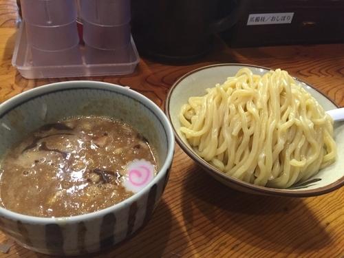 「濃厚つけ麺 中盛」@銀座 朧月の写真