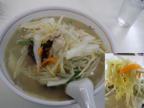 「タンメン600円」@拉麺工房 肥後もっこすの写真