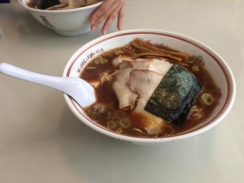 「醤油ラーメン」@吾作 能代本店の写真
