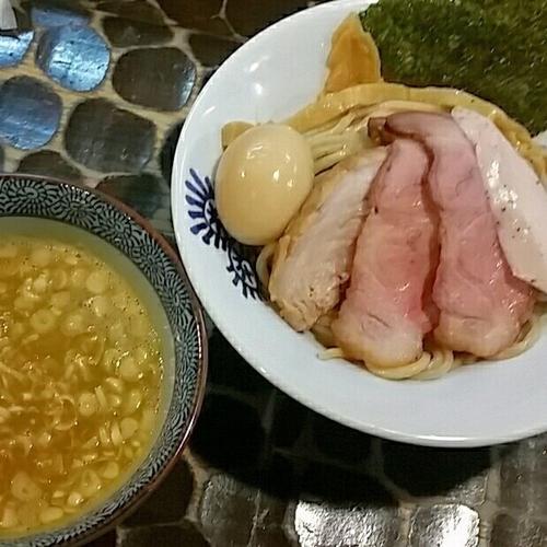 「【4周年記念】プレミアムつけ蕎麦2016 無料」@特級鶏蕎麦 龍介の写真