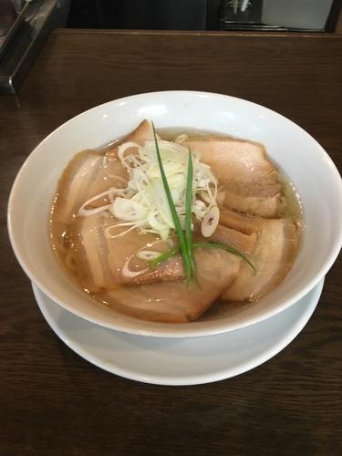 「いりこ塩 焼豚トッピング(950円)」@手打ち麺 やす田の写真