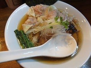 「肉ワンタン 煮干しそば」@麺処 鶴舞屋の写真
