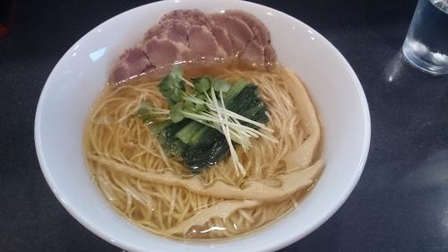 「醤油その2 広島牡蠣の甘口だし醤油+チャーシュー」@中華そば 安成の写真