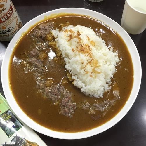「牛すじカレー」@牛すじカレー 小さなカレー家の写真