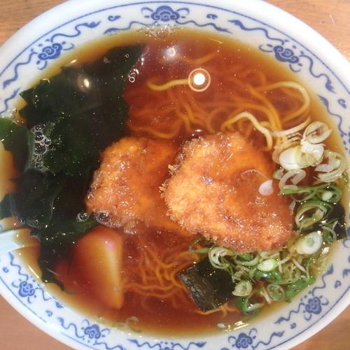 「チキンラーメン(700円)」@ふじみ食堂の写真