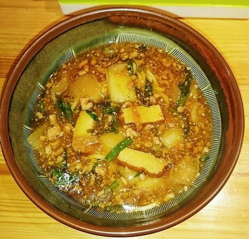 「雷々麺700円」@あたりや食堂の写真