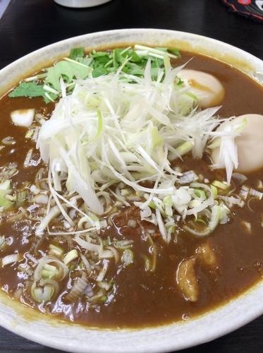 「カレー麺」@二代目めん家 味味の写真