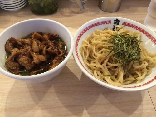 「肉汁つけ麺 レベル3  980円」@肉汁麺ススム 秋葉原本店の写真