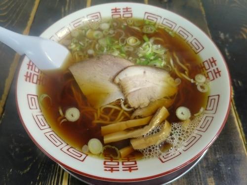「あっさり 600円 ※細麺」@長尾中華そば 西バイパス本店の写真