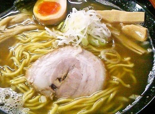 「煮干しそば(小)」@つけ麺 中華そば 佐とうの写真