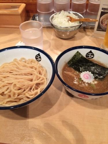 「つけ麺800円」@つけめん 玉 シャポー船橋店の写真
