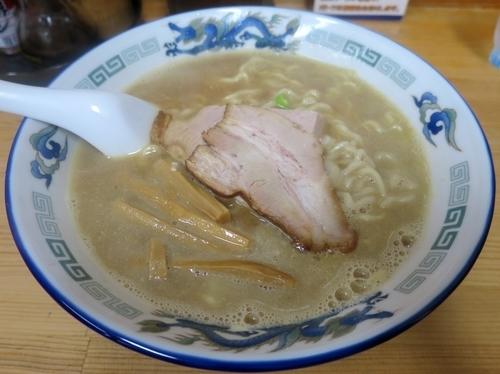 「こく煮干し 730円 ※中太麺」@長尾中華そば 青森駅前店の写真