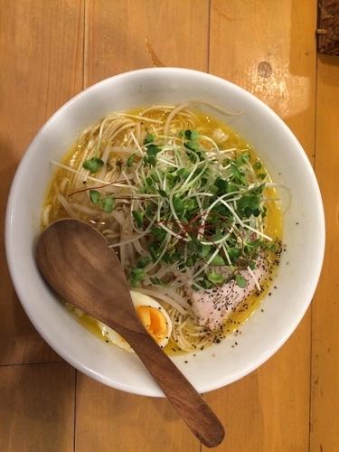 「鶏パイタンSOBA、大盛り」@麺屋 Hulu-luの写真